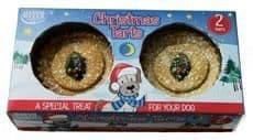 Hatchwells dog christmas tart